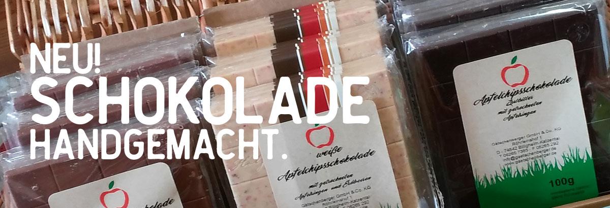 Schokolade handgemacht